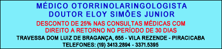 Otorrinolaringologista Eloy Simões Junior